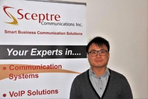 Edmond Chan Project Coordinator Sceptre Communications